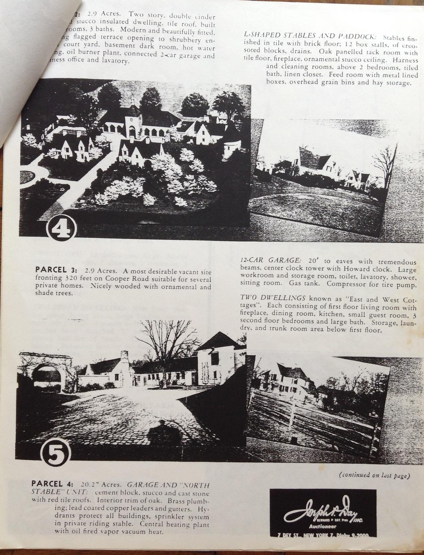 Auction document 1949